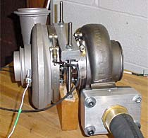photo showing oil-free foil air bearing supported turbine-driven turbocompressors