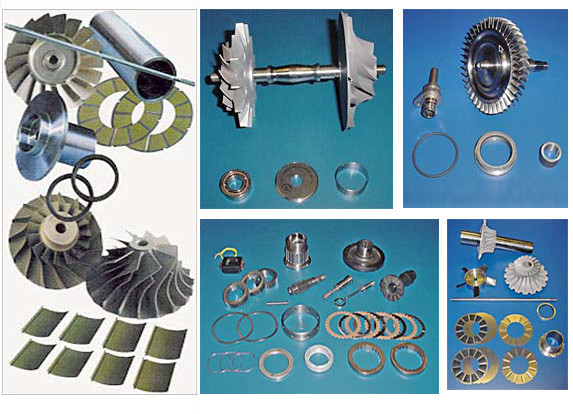 Photo R&D Dynamics - Products FAA Approved PMA Parts such as air cycle machines, jet engine starters, hydraulic pumps